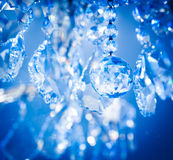 Chrystal chandelier. Close-up your your background Stock Images