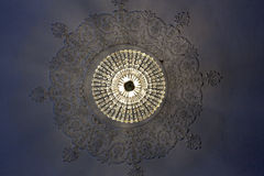 Chrystal chandelier Stock Images