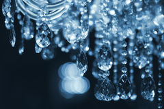 Chrystal chandelier close-up Royalty Free Stock Photography