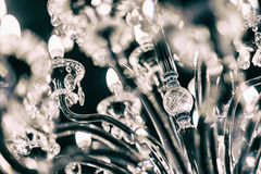 Chrystal chandelier Stock Photography