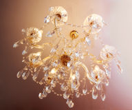 Chrystal chandellier Royalty Free Stock Images