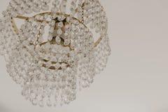 Chrystal Leuchternahaufnahme Zauberhintergrund mit Kopienraum lizenzfreie stockbilder