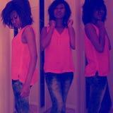 Chrystal waka bonnie aka miss Magate Stock Image