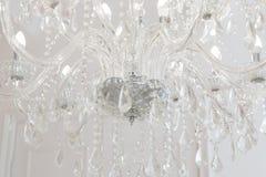 Chrystal świecznika close-up Zdjęcie Stock