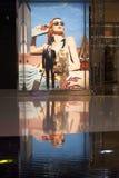 Chrystals购物中心在拉斯维加斯 图库摄影