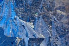 Chrystals del ghiaccio Immagini Stock Libere da Diritti