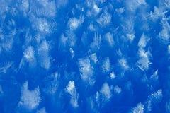 chrystals lód Fotografia Royalty Free