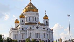Chryste katedralny Moscow zbawiciela Rosji zdjęcie wideo