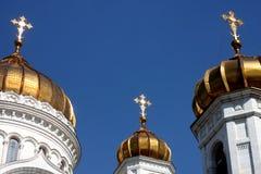Chryste katedralny zbawiciela Obrazy Royalty Free