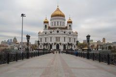 Chryste katedralny zbawiciela Zdjęcie Stock