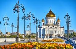 Chryste katedralny zbawiciela Moscow Zdjęcia Royalty Free