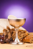 Chrystian holy communion Royalty Free Stock Photos