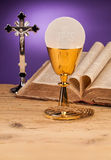 Chrystian holy communion Stock Photography