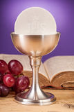 Chrystian holy communion Stock Images