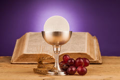 Chrystian holy communion Royalty Free Stock Image
