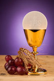 Chrystian holy communion Royalty Free Stock Images