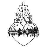 Chrystianizmu projekt ilustracja wektor