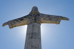 Chrystus Christo Redentor statua w Lubango lub odkupiciel, Angola Obraz Royalty Free