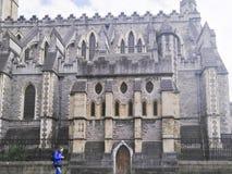 Chrystus katedra, Dublin, republika Ireland, architektura, religia, podróż, turysta fotografia stock