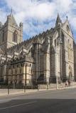 Chrystus katedra w Dublin obraz stock