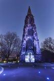 Chrystus kościół w Bochum Obrazy Royalty Free