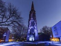 Chrystus kościół w Bochum Zdjęcia Royalty Free
