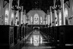Chrystus Kościelna katedra w Nassau fotografia royalty free