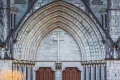 Chrystus Ko?cielna katedra, Nelson, Nowa Zelandia zdjęcie royalty free