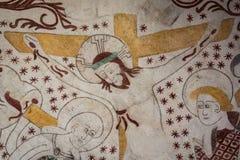 Chrystus na krzyżu przy wielkim piątkiem Fotografia Stock