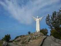 Chrystus odkupiciel Maratea Basilicata Włochy obrazy stock
