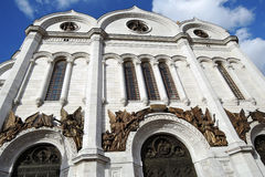 Chrystus odkupiciela kościół w Moskwa Zdjęcie Royalty Free