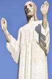 Chrystus pagórek, Palencia, Hiszpania obrazy royalty free