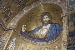 Chrystus Pantocrator w Monreale, Palermo Obrazy Royalty Free