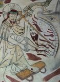 Chrystus ratuje mężczyzna dla szczęk śmierć Zdjęcia Royalty Free