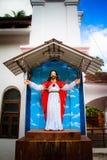 Chrystus statua, Anjuna, Goa, India zdjęcie royalty free