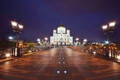 Chrystus Wybawiciel ortodoksalna Katedra Obrazy Stock