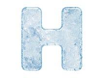 chrzcielnica lód Zdjęcie Stock