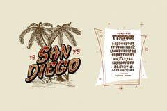 Chrzcielnica San Diego Ilustracji