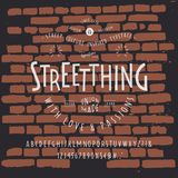 Chrzcielnica STREETTHING rzemiosło Zdjęcie Stock