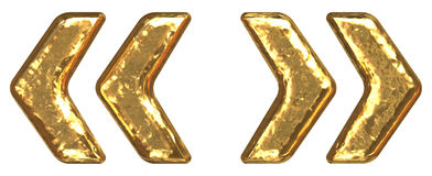 chrzcielnicy złoty wycena symbol Obraz Royalty Free