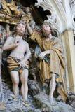 Chrzczenie Jezus Fotografia Royalty Free