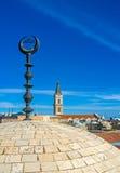 Chrześcijańscy i Muzułmańscy święte miejsca Jerozolima Zdjęcia Royalty Free