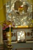 Chrześcijańska świeczka Obraz Stock