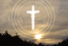 Chrześcijańska duchowość Obrazy Royalty Free