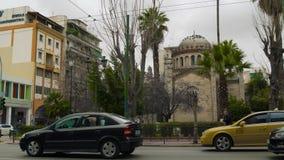 Chrześcijańska kaplica w Ateny Grecja zbiory