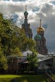 Chrześcijańska katedra w Rosja fotografia stock