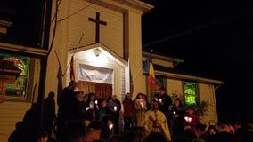Chrześcijańska ortodoksyjna Wielkanocna liturgii usługa zbiory wideo
