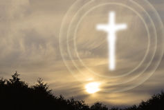 Chrześcijański duchowość symbolizm obraz royalty free