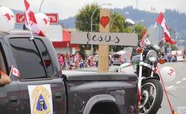 Chrześcijański motocyklisty skojarzenie zdjęcia stock