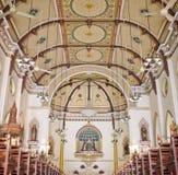 Chrześcijański neogotyki kościół Zdjęcie Royalty Free